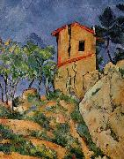 Paul Cezanne The House with Burst Walls oil painting picture wholesale